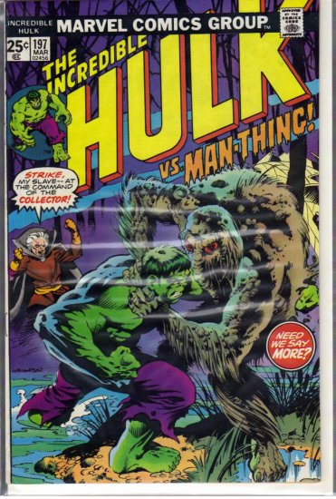 INCREDIBLE HULK # 197, 5.0 VG/FN