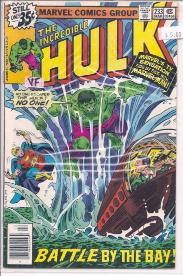 Incredible Hulk # 233, 8.0 VF
