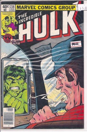 Incredible Hulk # 238, 5.0 VG/FN