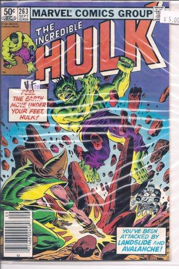 Incredible Hulk # 263, 8.0 VF