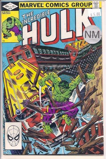 Incredible Hulk # 274, 9.2 NM -