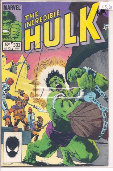 Incredible Hulk # 303, 9.4 NM