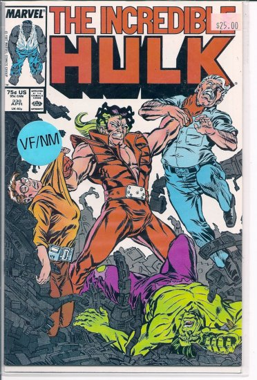 Incredible Hulk # 330, 9.2 NM -