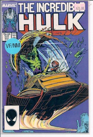 Incredible Hulk # 331, 9.0 VF/NM