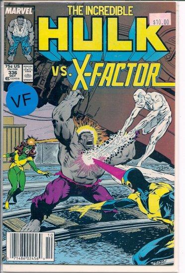 Incredible Hulk # 336, 8.0 VF