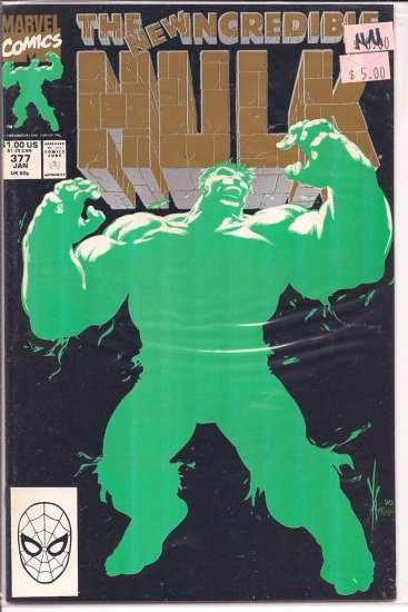 Incredible Hulk # 377, 9.4 NM