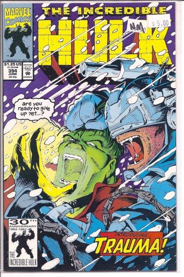 Incredible Hulk # 394, 9.4 NM