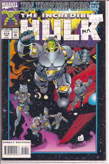 Incredible Hulk # 413, 9.4 NM