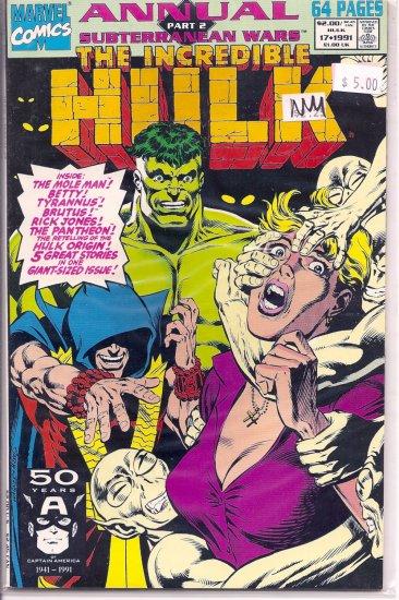 Incredible Hulk Annual # 17, 9.4 NM