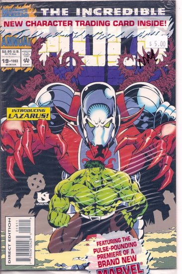 Incredible Hulk Annual # 19, 9.4 NM