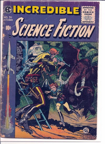 INCREDIBLE SCIENCE FICTION # 31, 0.5 PR