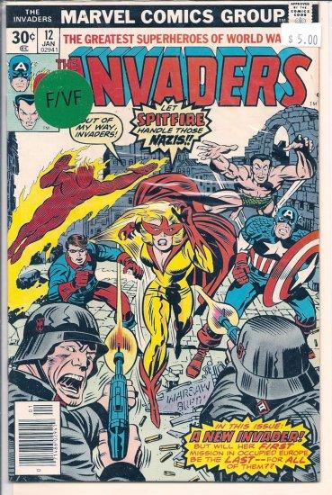 Invaders # 12, 7.0 FN/VF