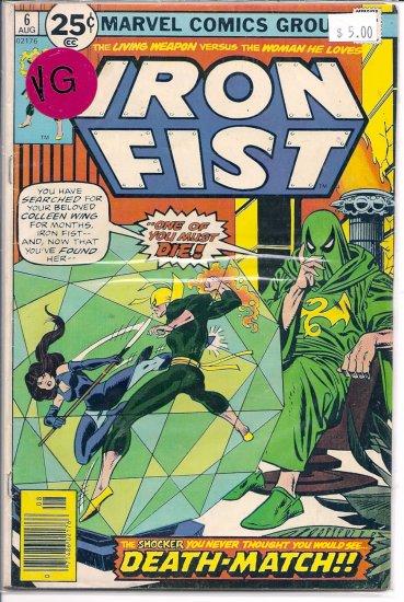 Iron Fist # 6, 4.0 VG