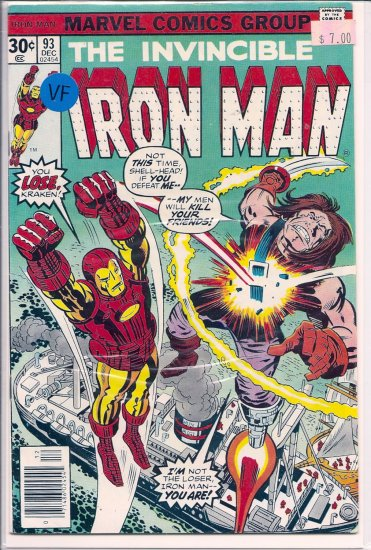 Iron Man # 93, 8.0 VF