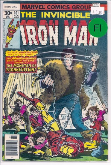 Iron Man # 101, 6.0 FN