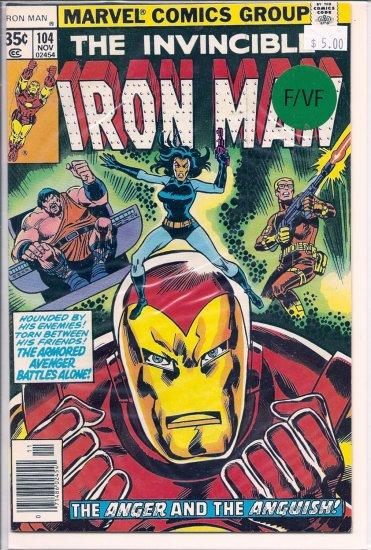 Iron Man # 104, 7.0 FN/VF
