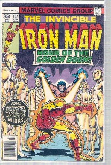 IRON MAN # 107, 4.5 VG +