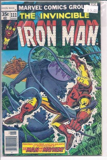 Iron Man # 111, 7.0 FN/VF