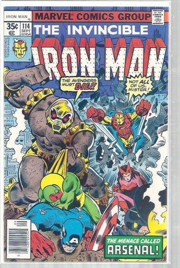 IRON MAN # 114, 4.5 VG +