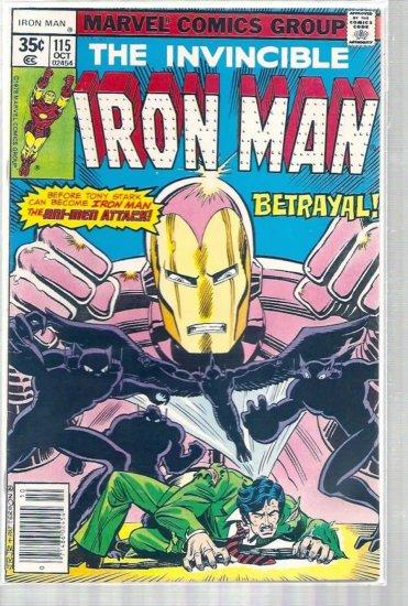 IRON MAN # 115, 4.5 VG +