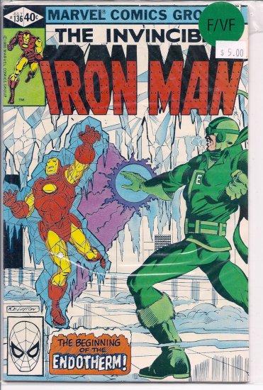 Iron Man # 136, 7.0 FN/VF