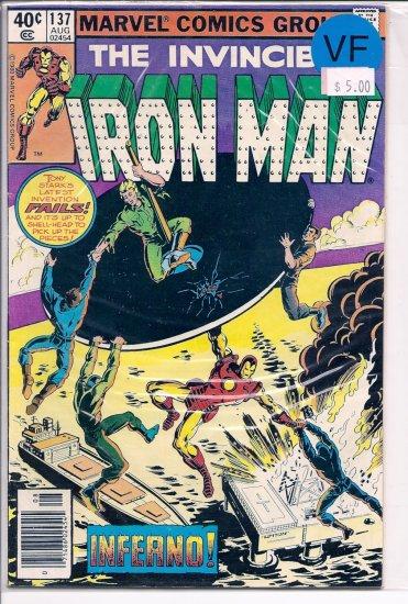 Iron Man # 137, 8.0 VF