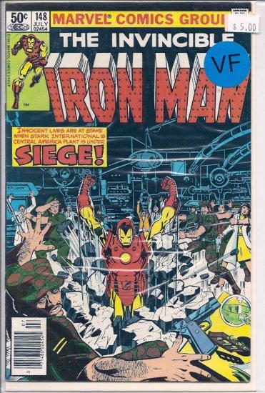 Iron Man # 148, 8.0 VF