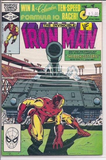 Iron Man # 155, 8.0 VF