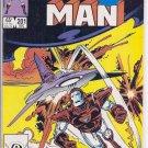 Iron Man # 201, 8.0 VF