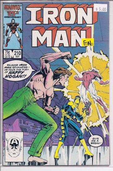 Iron Man # 210, 6.0 FN