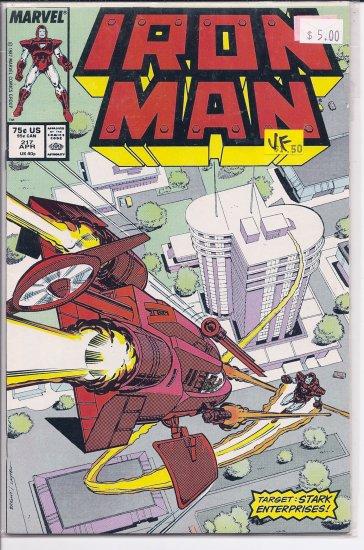 Iron Man # 217, 8.0 VF