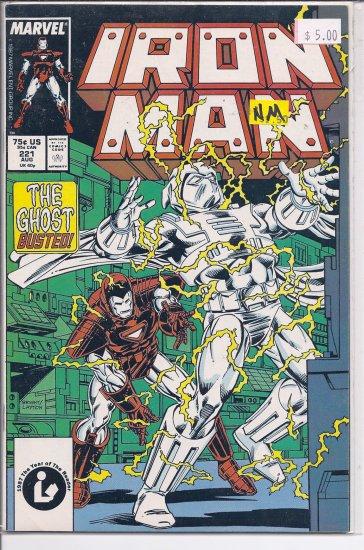 Iron Man # 221, 9.4 NM