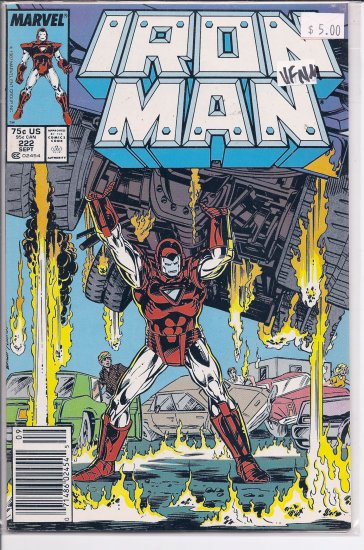 Iron Man # 222, 9.0 VF/NM
