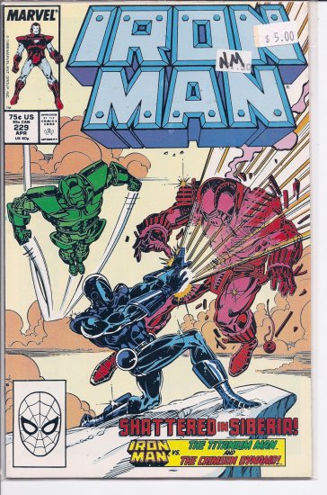 Iron Man # 229, 9.4 NM