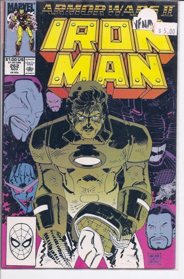 Iron Man # 262, 9.0 VF/NM