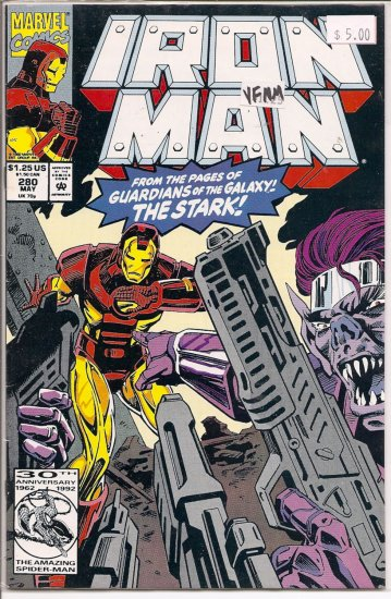 Iron Man # 280, 9.0 VF/NM