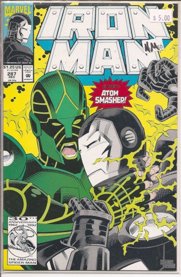 Iron Man # 287, 9.4 NM