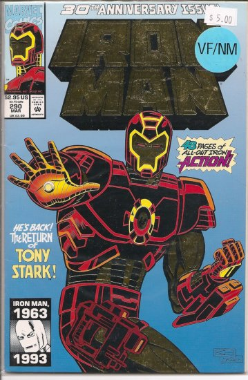 Iron Man # 290, 9.0 VF/NM
