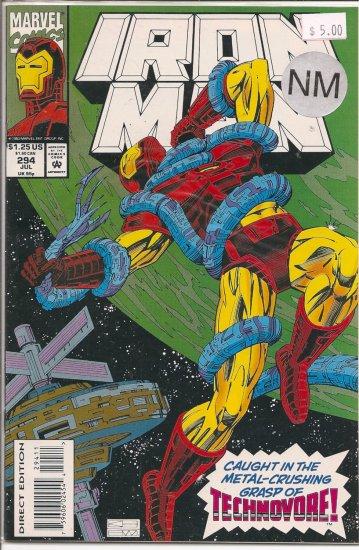 Iron Man # 294, 9.4 NM