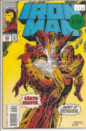Iron Man # 298, 7.0 FN/VF