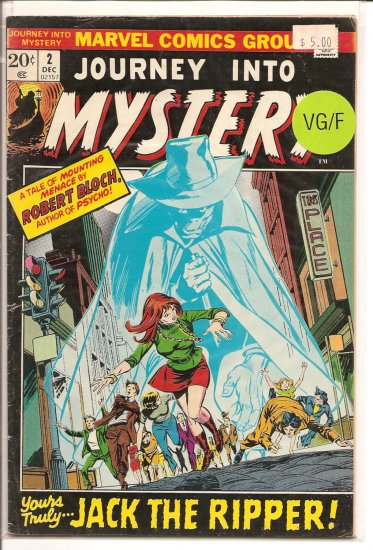 Journey into Mystery # 2, 5.0 VG/FN