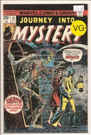 Journey into Mystery # 16, 4.5 VG +