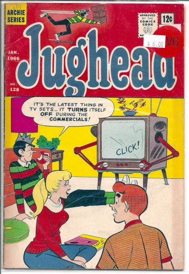 Jughead # 128, 4.0 VG