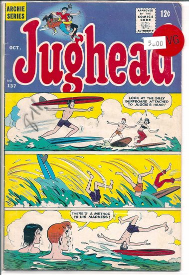 Jughead # 137, 4.0 VG