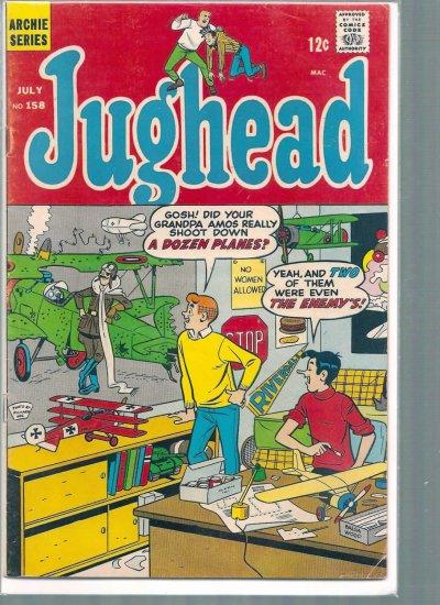 JUGHEAD # 158, 4.5 VG +