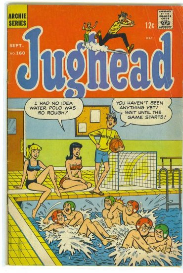 Jughead # 160, 4.5 VG +