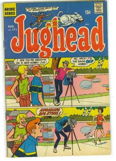 Jughead # 171, 3.5 VG -
