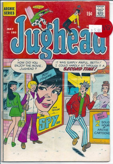 Jughead # 180, 4.5 VG +