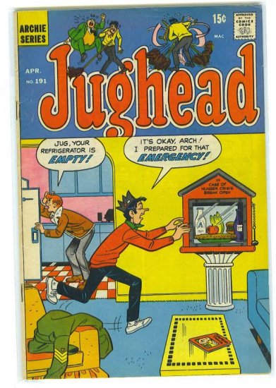 Jughead # 191, 4.5 VG +