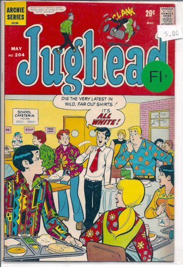 Jughead # 204, 6.5 FN +